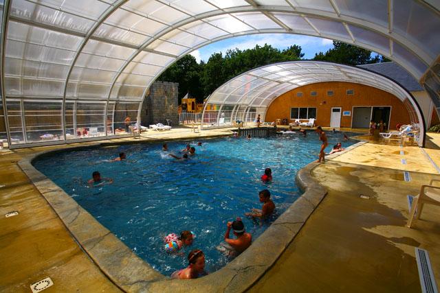 Espace aquatique domaine de l veno gu rande - Camping guerande piscine couverte ...